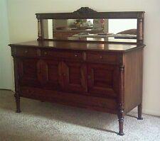Antique Dining Room Buffet; Mahogany, Black Walnut; American Renaissance (1916)
