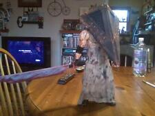 "SILENT HILL PYRAMID HEAD FIGURE STATUE 14"" MOVABLE ARMS LEGS ZOMBIE PROP"