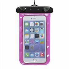 Water Resistant Rigid Plastic Cell Phone Pouches/Sleeves for