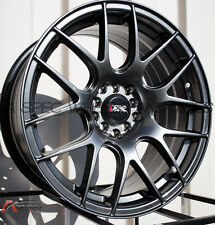 One 18X7.5 XXR 530 5x100/114.3 +38 Chromium Black Wheel