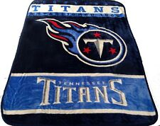 Tennessee Titans blanket bedding 60x80 FREE SHIPPING NFL Titans throw