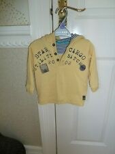 infant 9-12 months yellow hoodie