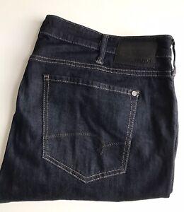 MAVI Jeans, Zach Straight Leg, 38 x 27, Blue, Stretch Cotton
