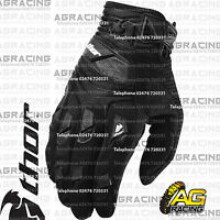 Thor Deflector Gloves Black Black Adult Medium Size 9 Motocross Enduro Quad ATV