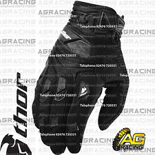 Thor Deflector Gloves Black Black Adult Medium Size 9 Motocross Enduro Quad ATV