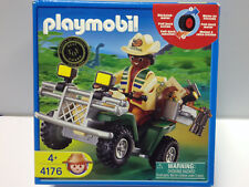 Playmobil 4178 Dinosaur Explorer w/ Quad ATV RARE Sealed NIB