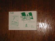 Norfolk Island :- Booklet MNH  SB6 Sea Birds USED (89)