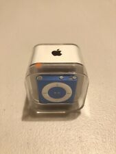 Factory Sealed Apple iPod Shuffle 4th Generation Blue (2GB)