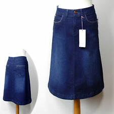 Per Una Knee Length Denim A-line Skirts for Women