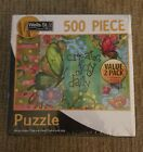 500 Piece Puzzles 2 Pack Happy Camper & Create Joy Daily Wells St By Lang