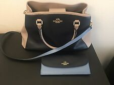 WOW COACH BRAND SATCHEL BAG WITH MATCHING WALLET NICE BAG CLEAN