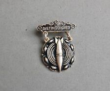 """Distinguished"" Military Medal Cracker Jack Toy Prize Bomb Squad Emblem Pin"
