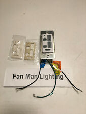 Emerson SW605 6 Speed  LED Wall Control For Ceiling Fans With Uplight &Downlight
