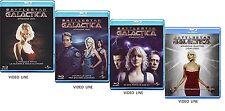 Blu Ray BATTLESTAR GALACTICA Stagioni 01-04 Completa (Box 18 Blu Ray) ...NUOVI