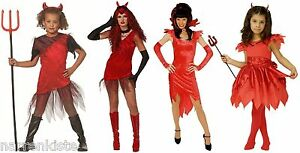 Teufel Kostüm Teufelin Kleid Dracula Vampir Damen Teufelkleid Teufelkostüm Hexe