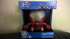 NUOVO MARVEL AVENGERS IRON MAN LAMPADINA Botz LIGHT UP FIGURE CAMERA DA LETTO OROLOGIO SVEGLIA