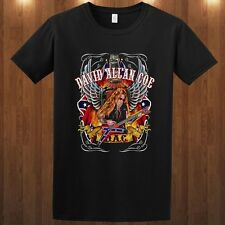 David Allan Coe tee outlaw country music rebel meets T-Shirt S M L XL 2XL 3XL