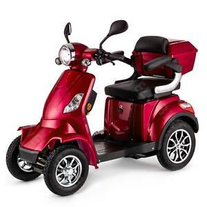Scooter elettrico 4 ruote Disabili Anziani 25km/h 1000W VELECO FASTER