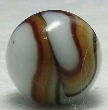 VINTAGE RAVENSWOOD TRI- COLOR SWIRL MARBLE/ BLOWN MARBLES 17mm From Estate #33-2