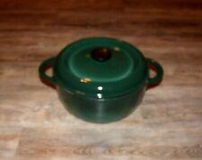 Dutch Oven Nomar Made in France #24 Green Ceramic