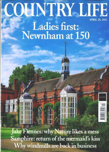 COUNTRY LIFE MAGAZINE 28th APRIL 2021 ~ NEW ~