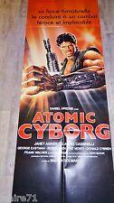 ATOMIC CYBORG !  affiche cinema format pantalon