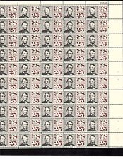 US AIRMAIL SCOTT#C59,25C STAMP ABRAHAM LINCOLN SHEET OF 50 MNH BCV $42.50