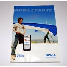 GENUINE NOKIA 6280 USER MANUAL USER GUIDE IN ENGLISH + SOFTWARE CD & DATA CABLE