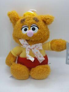 "Muppet Babies FOZZIE Bear Plush 13""H NWT Disney"