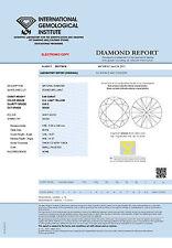 DIAMANT 0.48ct Brillant VVS2 Light Yellow (U-V) IGI