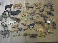 Lineol Tiere Leipziger Zoo mit 38 Tiere um 1920-30 Best Erhaltung