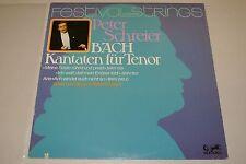 Peter Schreier Tenor Bach Cantatas 89 371 MK Eurodisc Quadro auch BMV 160 + 189