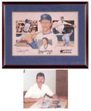 Robin Yount Signed Autographed Milwaukee Brewers LtdEd HOF Print Spring Special