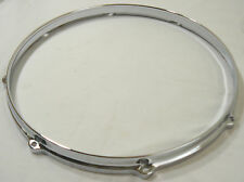"""14"""" 8 Hole Batter Side Die Cast Tom or Snare Drum Hoop 4 Set Build Restoration"""