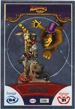 Vignette de collection autocollante CORA Madagascar 3 n° 90/90 - Melman Marty ..
