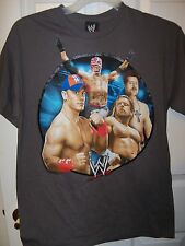 John Cena WWE Wrestling Gray Circle SS Shirt Boys Size XL 18 / 20  NWT  #247