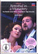 DVD PROKOFIEV Betrothal in a Monastery NETREBKO GERGIEV Die Verlobung im Kloster