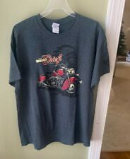 Very cool Indian Chief Motorcycle Tee T Shirt Extra Large