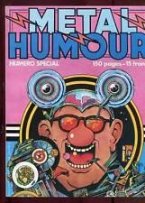 METAL HURLANT N°46 bis. SPECIAL HUMOUR. ED HUMANOS. 1979.