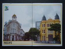 Panini 10 & 11 Spielort Recife Confed Cup 2013 Brasilien