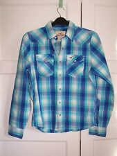 Men's Shirts By HOLLISTER, Check Pattern, Size Medium