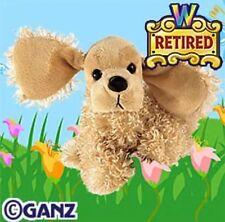 Retired Webkinz American Cocker Spaniel Dog Ganz Hm202 W Unused Code