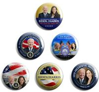 Joe Biden / Kamala Harris Inauguration Buttons set of 6 (INAUG-ALL)
