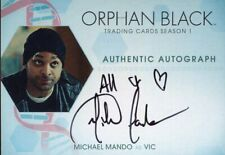 Orphan Black Season 1 Autograph MM Michael Mando (Inscription Variant)