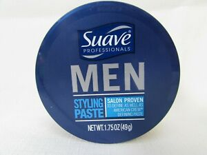 Suave Professionals Mens Hair Styling Paste Medium Hold Matte Finish Men 1.75 OZ