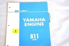 1970's Vintage Sno-Jet Snowmobile SW396 (811) YAMAHA ENGINE Parts Manual - (OR1)