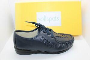 SHOES/FOOTWEAR - Softspots Bonnie lace up shoe navy