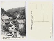 LINEA SEMPIONE PONTE BOLDRINI CAIRASCA VARZO cartolina non viaggiata Val Divedro