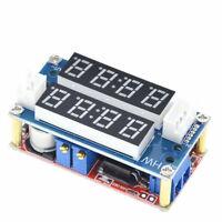 DC-DC Boost Converter CC CV Power Module 9V-45V 5A Regulated W Voltmeter ammeter