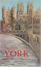 ALBERIC STACPOOLE THE NOBLE CITY OF YORK LIMITED EDITION NO.918c HARDBACK DJ 72
